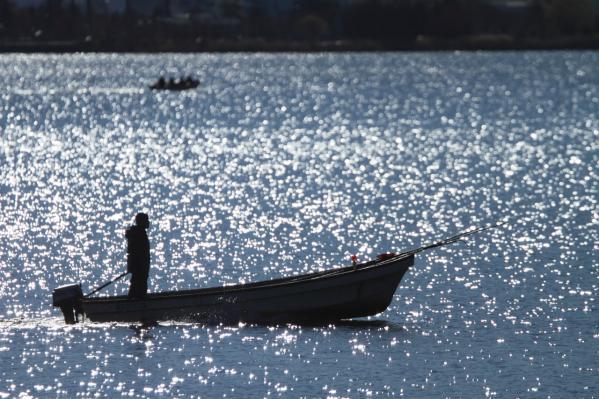 小舟_諏訪湖