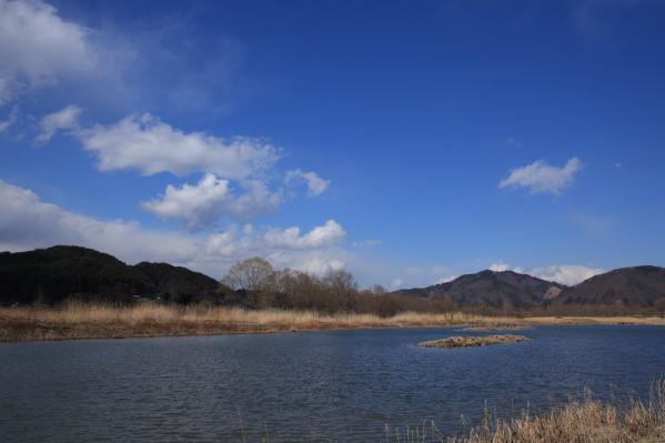 御宝田遊水池