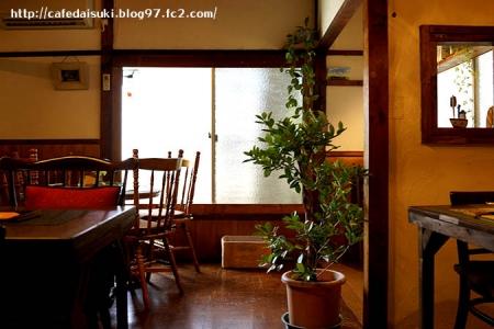カフェ ひびきや◇店内