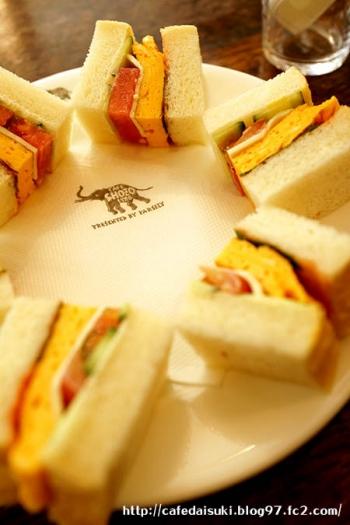 NASU SHOZO CAFE◇サンドイッチ
