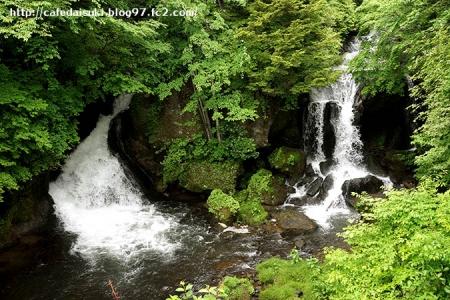 竜頭の滝@栃木県日光市
