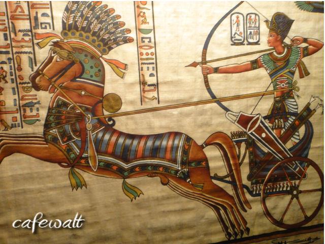 Ramesses II Papyrus1