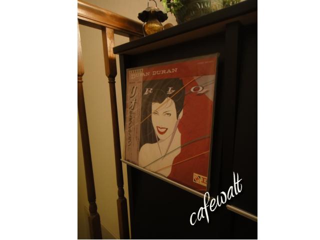 Duran Duran LP in cafewalt