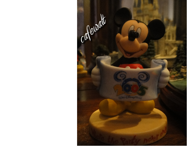 Mickey Figure WDW 2005 2