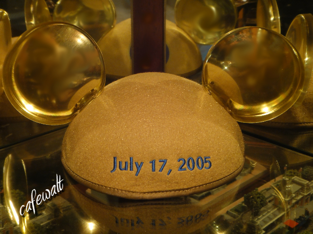 Mickey ear's hat DL 50th 2