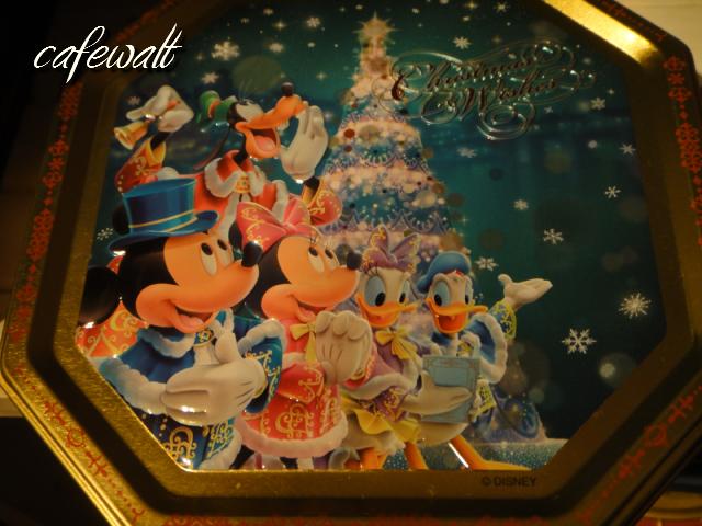 TDSクリスマスウィッシュクッキー缶2012