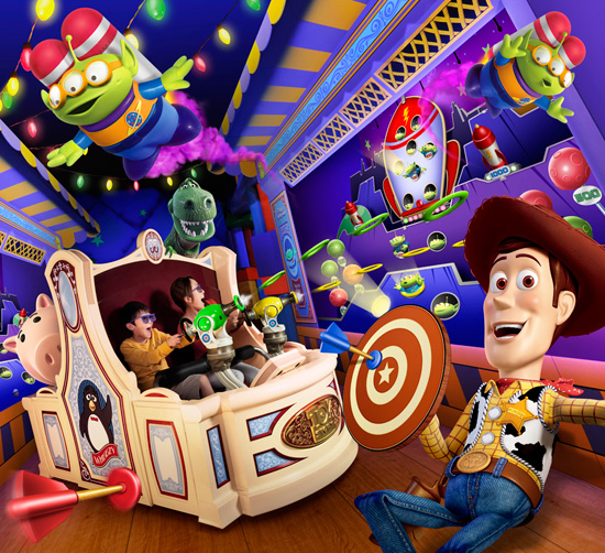 Toy Story Mania! in TDS