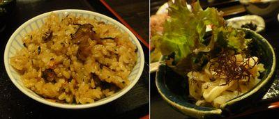 じーる 沖縄ソバ定食 惣菜とご飯