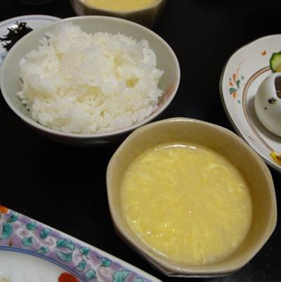 ろぢん ご飯とスープ