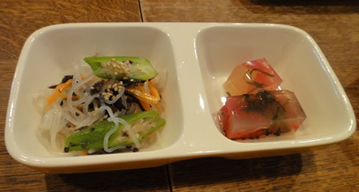 ペコリ サラダ&トマト寒天