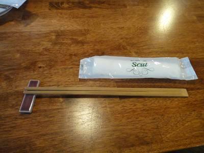 ポンレベック 箸