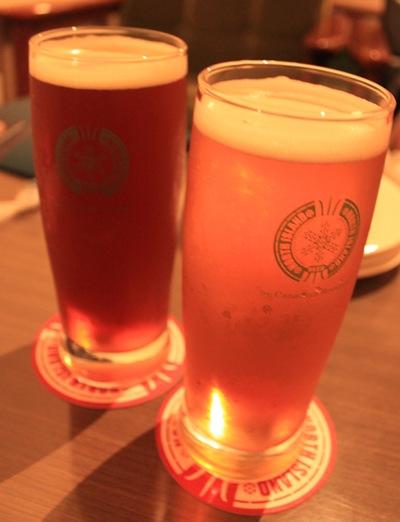 ノースアイランド 最初のビール