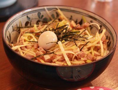 萬福家 特製葱丼