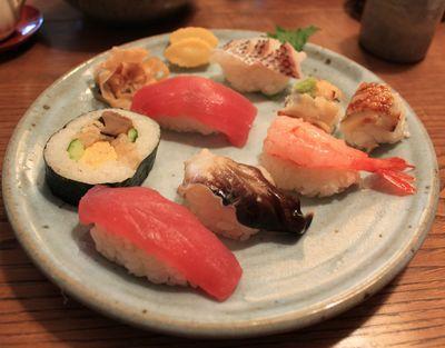 笑魚亭 寿司
