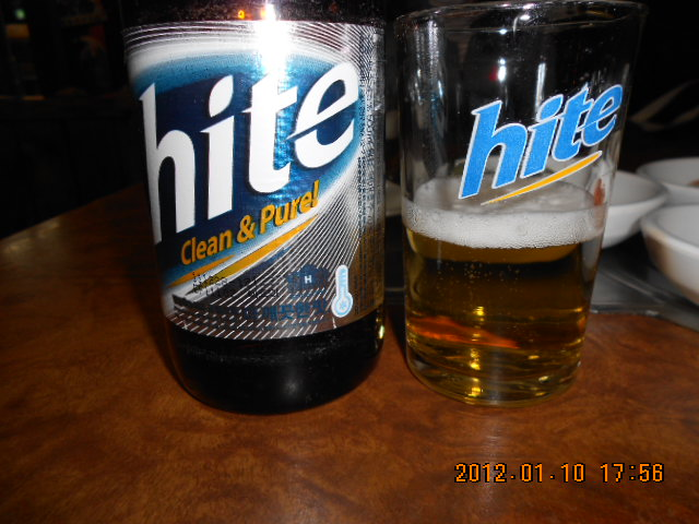 ビールhite