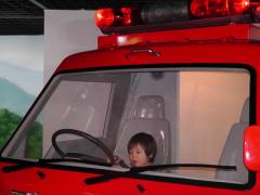 消防車を運転1