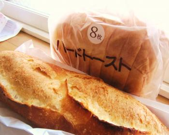 ハードトーストとプティバタール