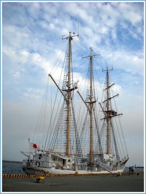 帆船「あこがれ」