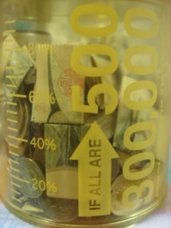 貯金箱黄色