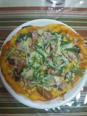 普通のピザ2