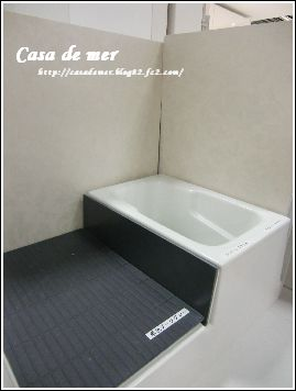 こんな感じの 浴室です