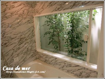 浴室スクリーン窓