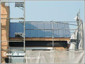 ガルバニウムの屋根