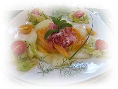 20080605-107 Bourdaisiere 夕食 トマトのフルコース00160016-1