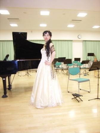 地域のコンサート:サウンドスケープ赤堤での智恵さん