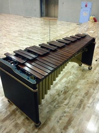 巨大な木琴