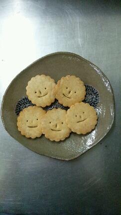 蝋器とクッキー
