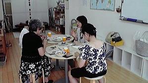 アクセサリー教室 朝 2010年8月19日