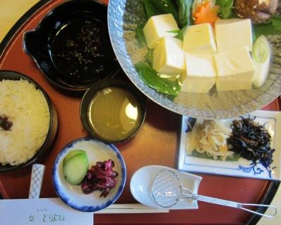 京都・とりよね 湯豆腐