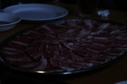 たくさんのお肉