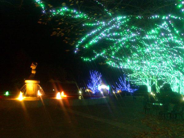 20121124ぶどうの丘夜景