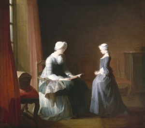 Jean Siméon Chardin The Good Education