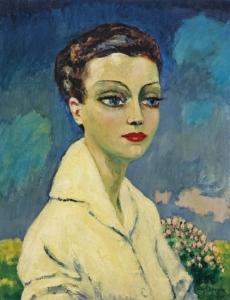 Kees van Dongen Femme à la blouse blanche