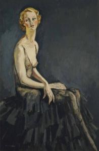 Kees van Dongen Portrait de Mademoiselle Erna Carise