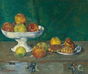 cezanne Pommes et gateaux