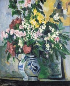 cezanne Les deux vases de fleurs