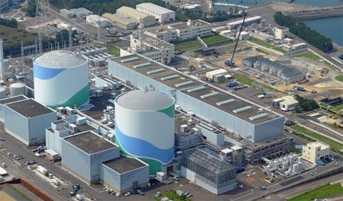 1107川内原発航空写真