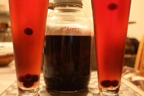 ブルーベリー酒