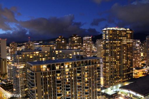 レインボータワーからの夜景