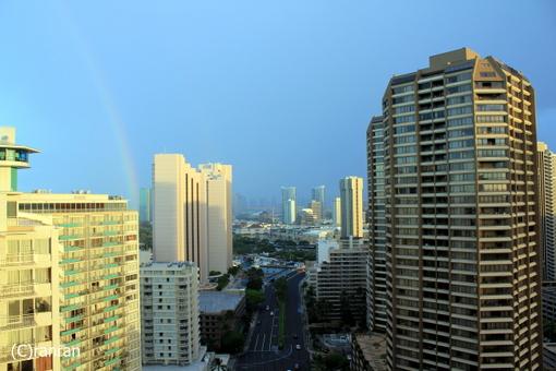 あっ!虹だぁ