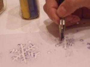 雪の結晶工程