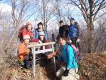 20静かな笹塒山の山頂