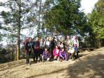 09大平山の山頂で全員集合