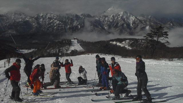 01 第一日目:戸隠スキー場