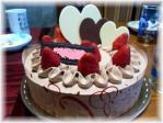 結婚祝いケーキ。