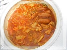 トマト鍋。